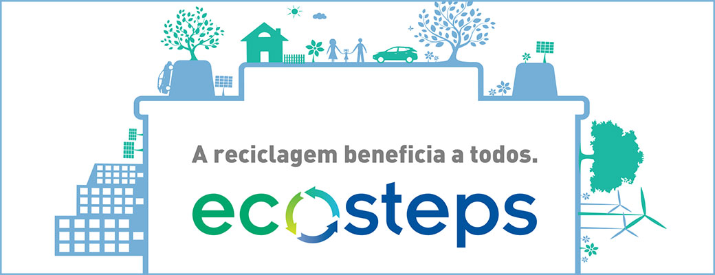 Programa global de reciclagem Johnson Controls, Ecosteps.