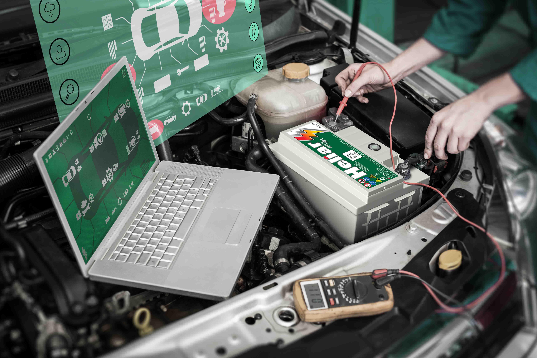 Manutenção Preventiva Baterias Heliar