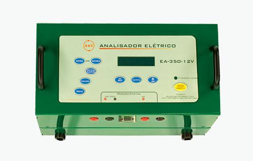 Analisador automotivo EA350 Baterias Heliar, testa baterias 12V AGM, de automotivo e similares, com até 350 A de CCA.