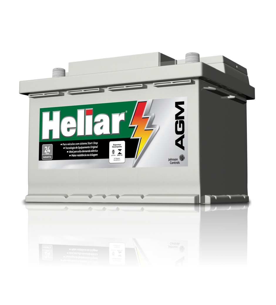 Baterias Heliar AGM, ideal para sistema start-stop.