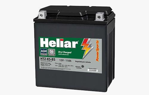 Heliar PowerSports HTZ12S-BS