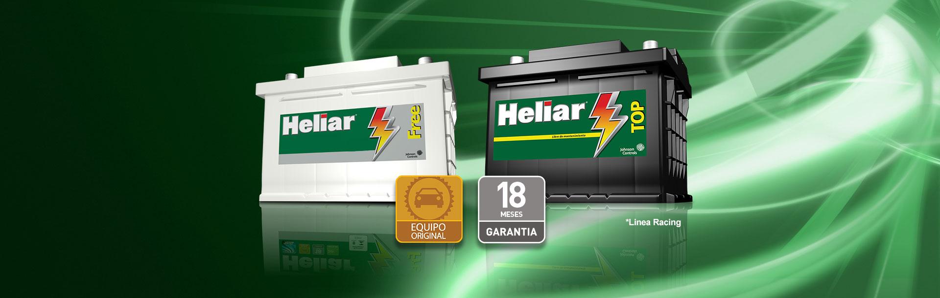Línea automotiva Baterías Heliar la mejor batería para su auto.