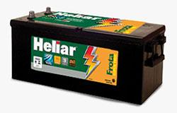 Baterias Heliar Frota Super Free, ideal para suportar as aplicações mais severas