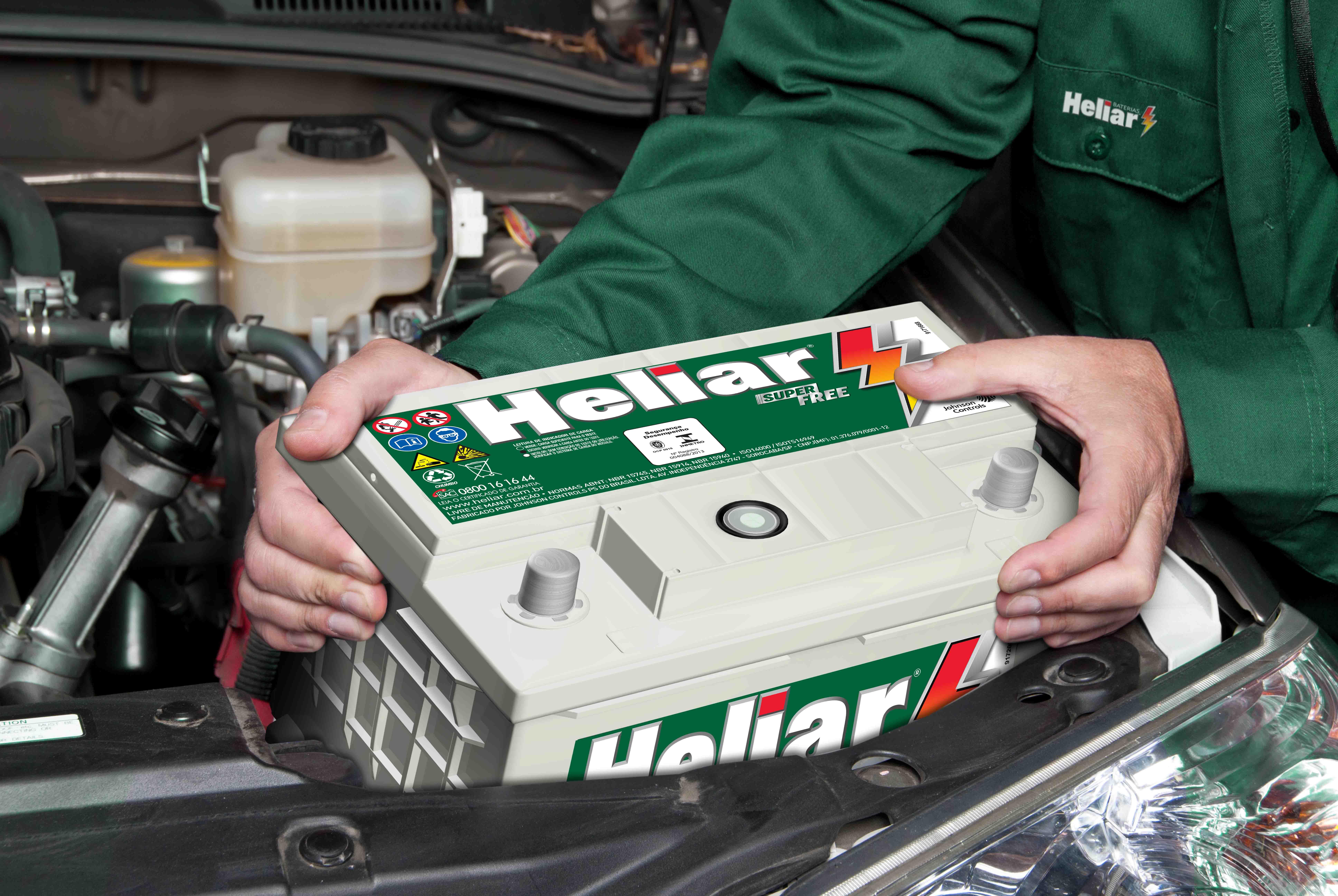 Instalação e Substituição Baterias Heliar