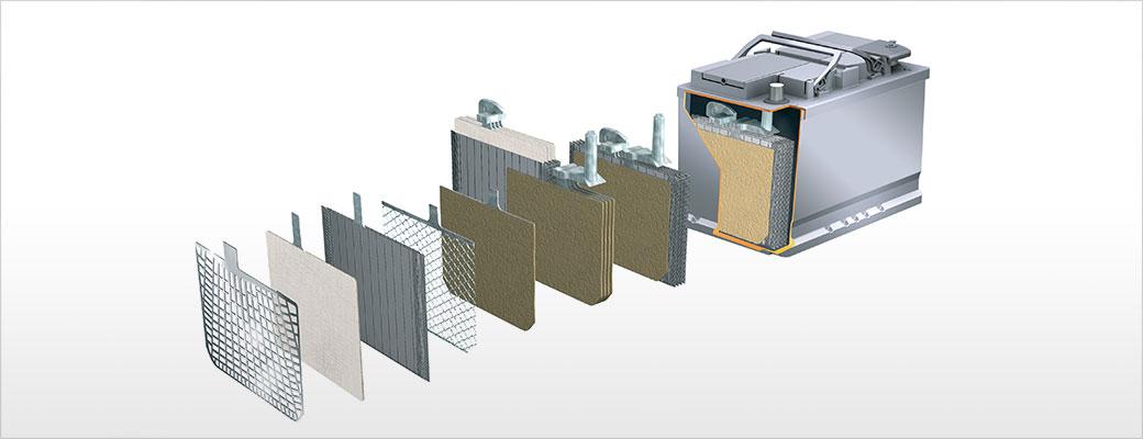 Baterias com tecnologia EFB tem alto desempenho nas aplicações de partidas sequenciais, como os veículos Start Stop.