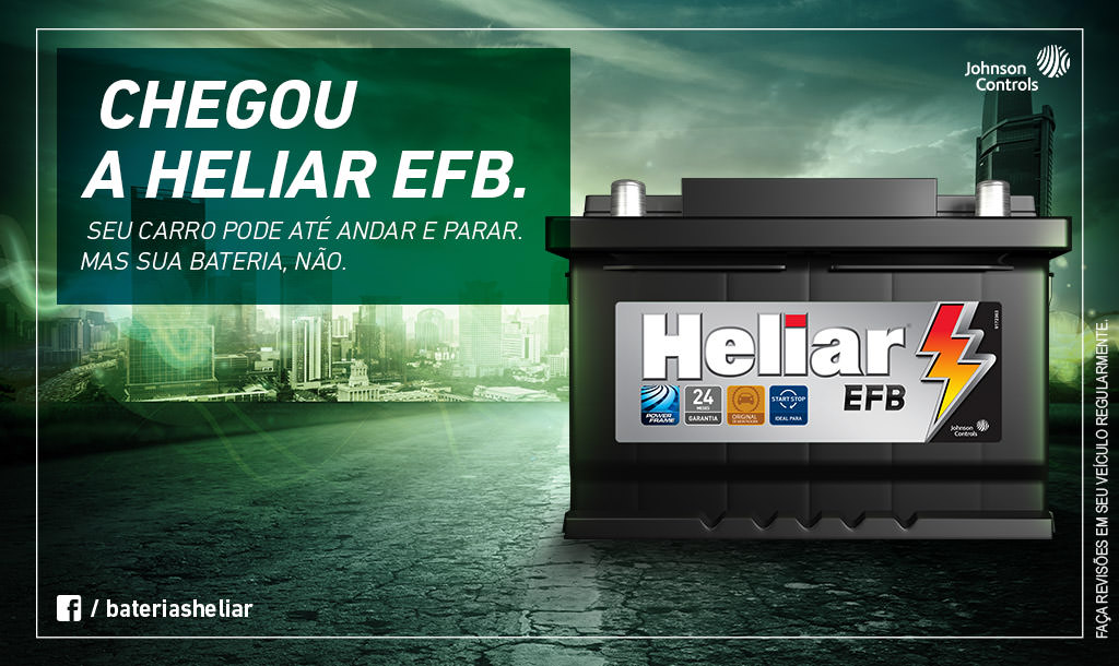 Baterias Heliar EFB