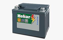 Baterias Heliar Extreme, líder absoluta nas montadoras.