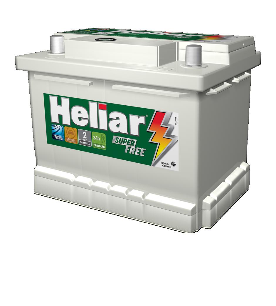 Baterias Heliar Super Free