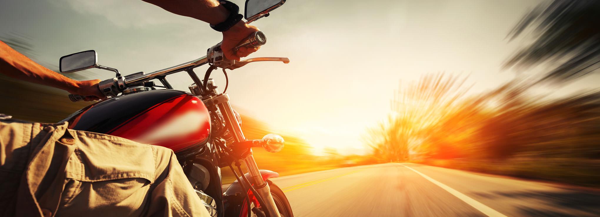 Sua moto com máxima potência.