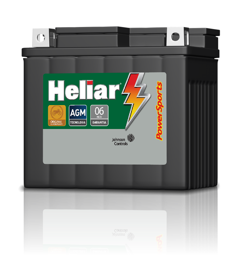 Baterias Heliar PowerSports, sua moto com o máximo desempenho.