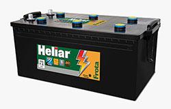 Baterias Heliar Frota, resiste ao desgaste dos pesados nas estradas